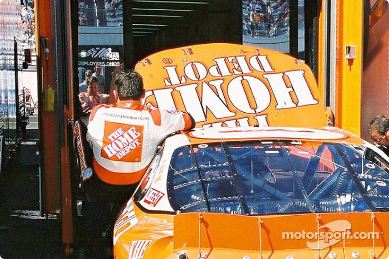 End of the day for Tony Stewart