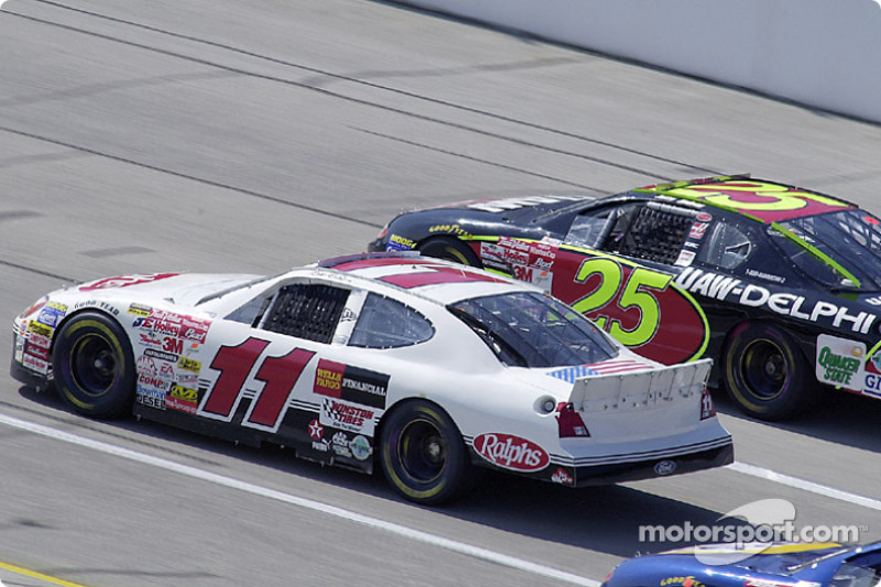 Brett Bodine and Jerry Nadeau