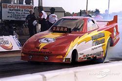 Funny Car rookie John Vouros