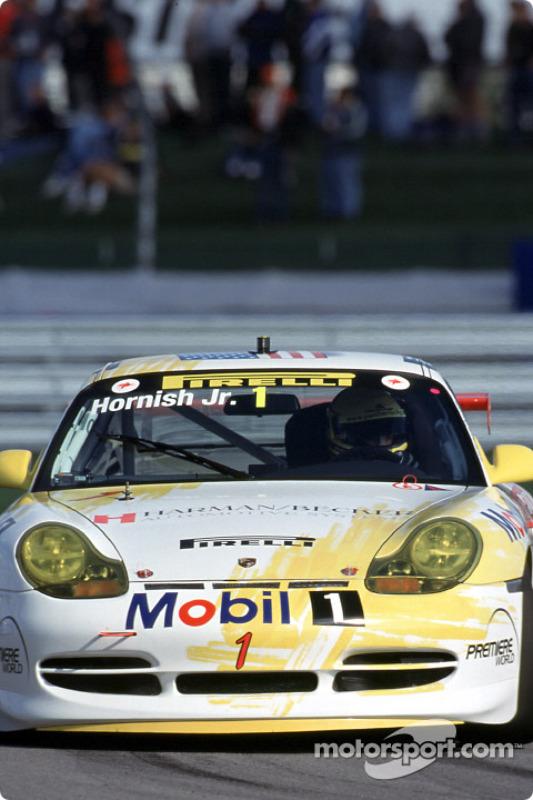 Porsche-Pirelli Supercup: Sam Hornish Jr.
