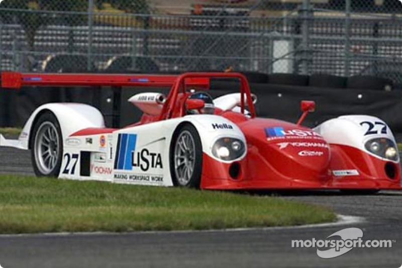 Doran Lista Racing debuted its new Judd Dallara at the Grand-Am Finale