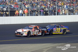 Jason Leffler and Bobby Hamilton