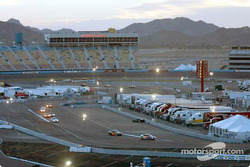 Some SGS cars lead the field as dusk falls
