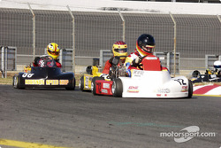#12-Jim Hanson, #26-Andy Whiten, #58-Jason LaVere