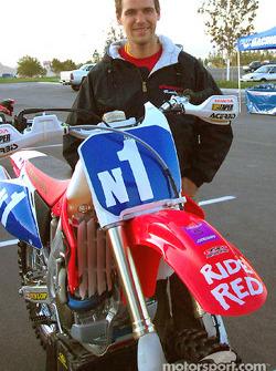 Johnny Campbell  Honda contingency row