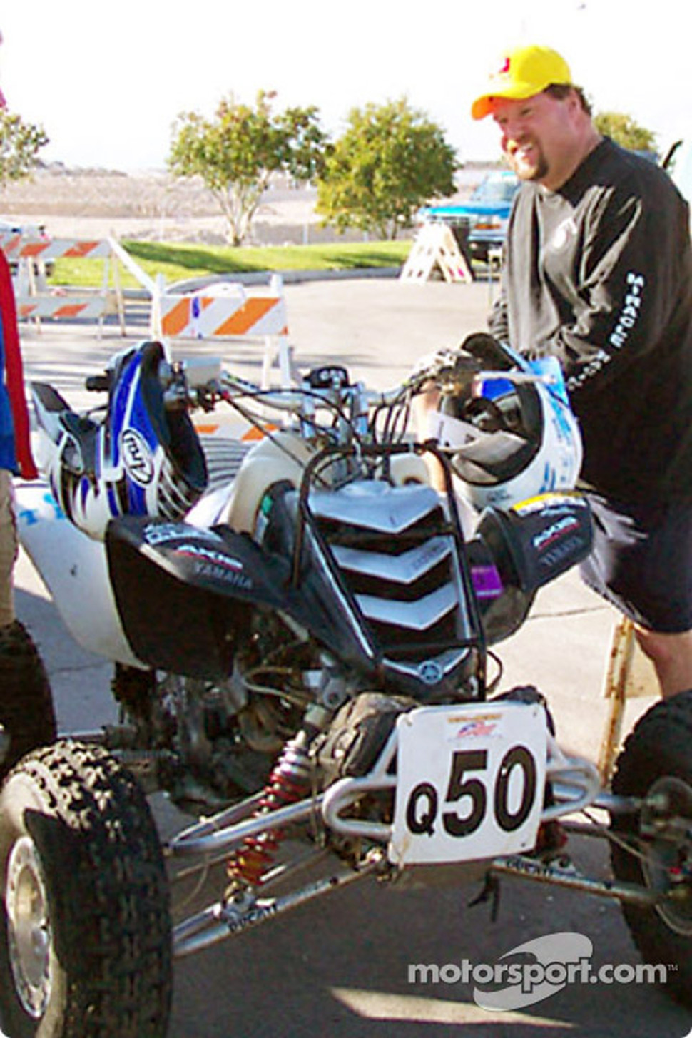 Quad Sportsman Expert of Bill Pierson, Mark May tech inspection