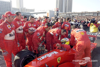 Luca Badoer and Team Ferrari