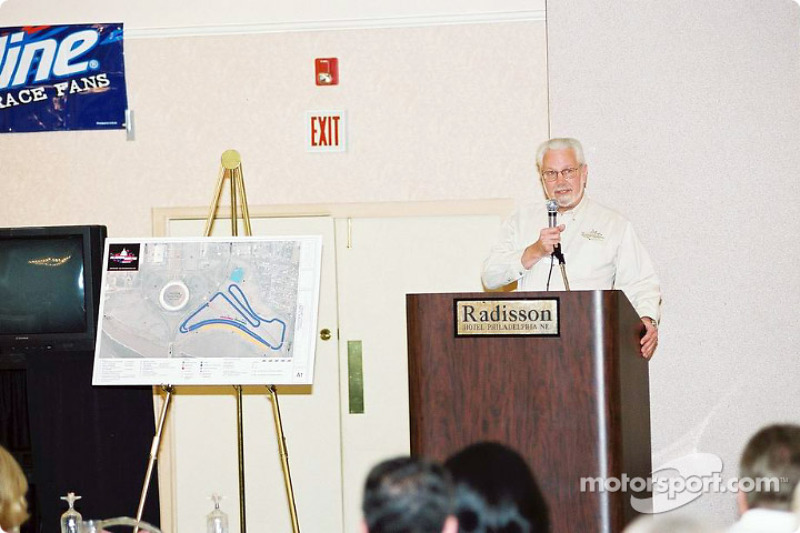 Hayne Dominick discusses the ALMS race in DC this coming summer