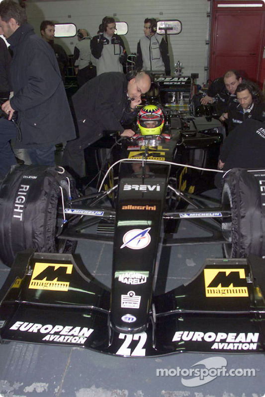 Alex Yoong in the garage