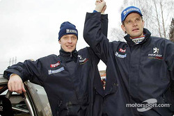 Marcus Gronholm and Harri Rovanpera