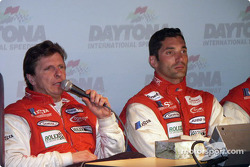 Didier Theys and Max Papis