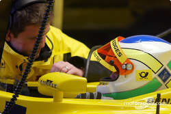 Giancarlo Fisichella before the race