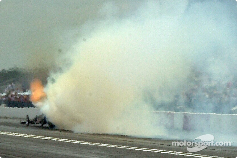 Don Garlits' hopes for competing this weekend go up in smoke