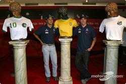 Visit at Pelé Exhibition in Sao Paulo: Nick Heidfeld