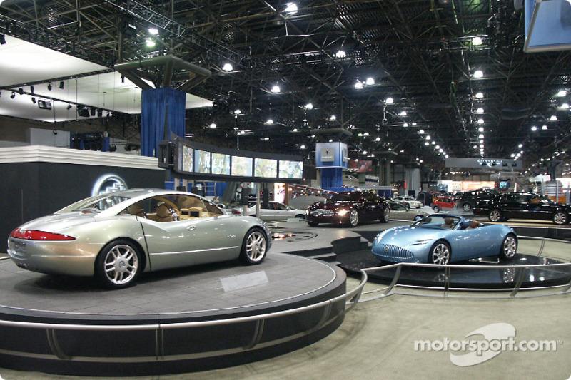 Three Buick concept cars