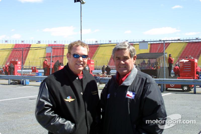 Al Unser Jr. and Al Unser Sr.