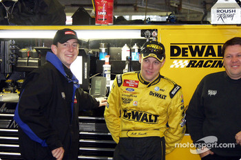 Kurt Busch and Matt Kenseth killing time