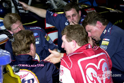 Rusty Wallace and Bill Elliott