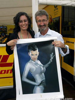 Eddie Jordan feeling better now