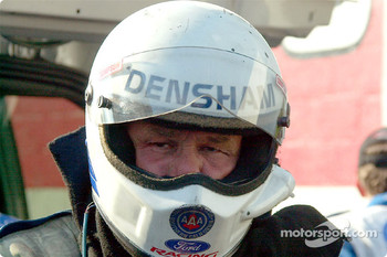 Gary Densham concentrates