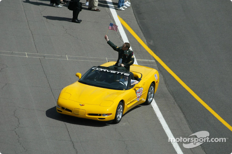 A ride in the pace car