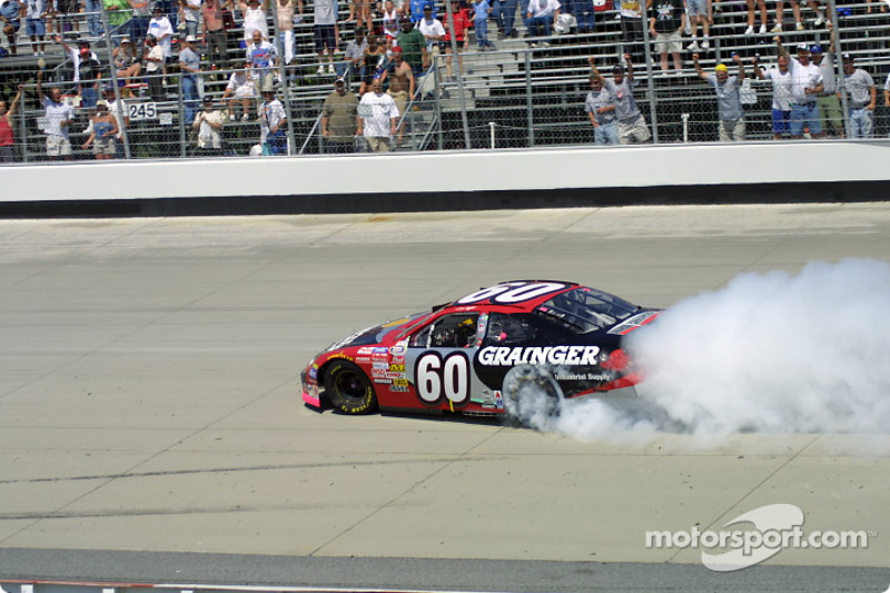 Burnout for Greg Biffle