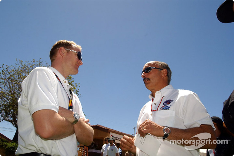 Tommy Kendall with Bobby Rahal