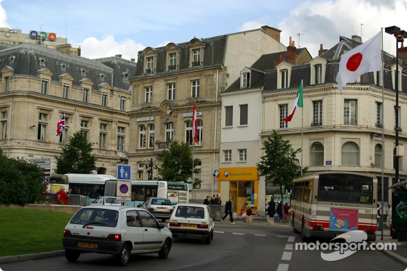 Downtown Le Mans