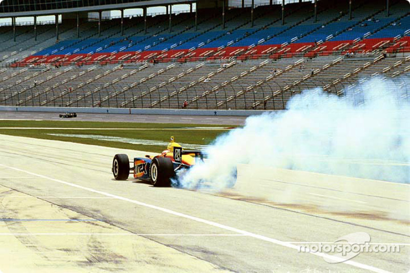 Robbie Buhl blowing an engine