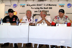 Barber Dodge Pro Series Race press conference: Ryan Hunter-Reay, Chris Pook, Skip Barber and Townsend Bell