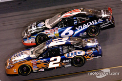 Rusty Wallace and Mark Martin