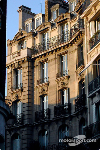Beautiful Paris light