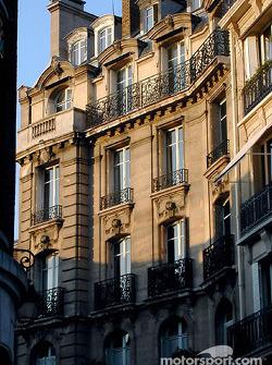 Beautiful Paris light