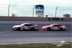 Tim Sauter and Bobby Hamilton Jr.