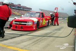 Mike Bliss pitstop