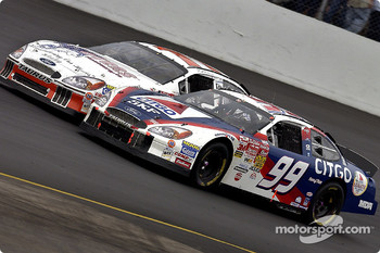 Jeff Burton and Brett Bodine