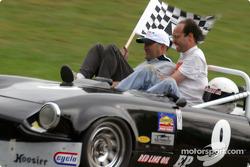 Race winner Craig Chima