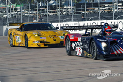 Bryan Herta and Corvette Racing Chevrolet Corvette C5-R