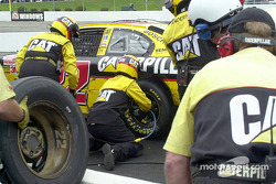 Ward Burton tire change