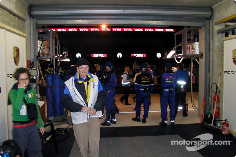 The Racer's Group pit area