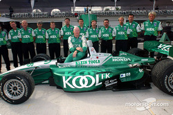 Family picture for Paul Tracy and his crew