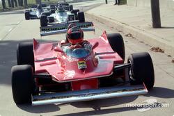 Historic cars demonstration