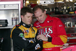 Ward Burton and Kenny Wallace