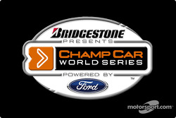 New logo for the Bridgestone Presents The Champ Car World Series Powered by Ford