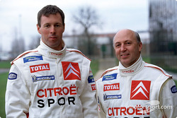 Citroën Sport présentation: Colin McRae and Derek Ringer