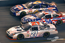 Ricky Rudd, Todd Bodine and Mark Martin