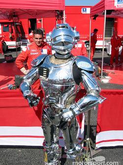 C3PO, undercover crew member for Marlboro Peugeot Total
