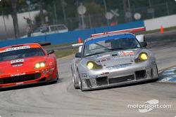#42 Orbit Racing Porsche 911 GT3 RS: J.A. Policastro Jr., Joseph Policastro Sr., Mike Fitzgerald