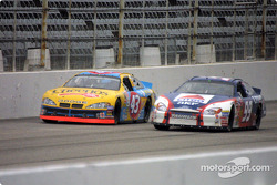 John Andretti and Jeff Burton