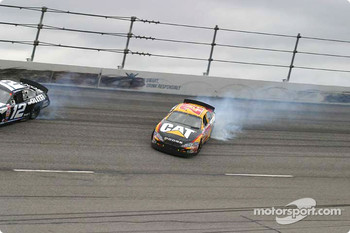 Ward Burton in trouble